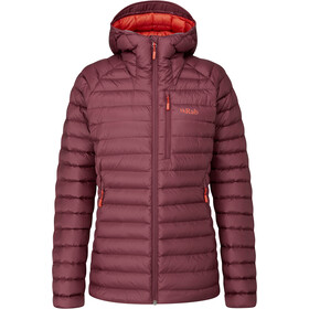 Rab Microlight Alpine Long Giacca Donna, rosso